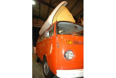 *1974 RHD Citrus Red Dormobile VW Camper***Gone to London March 09