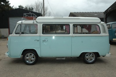 The Muirheads of Bucks '79 rhd VW camper van. Full bespoke build.  taken 29-1-10