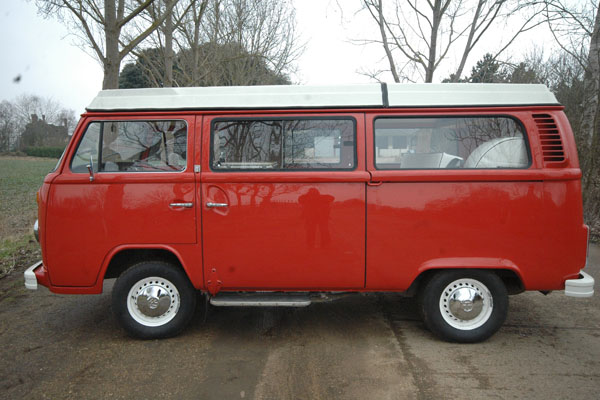 **26-7-10 Deposit taken from the Sharlands of Dorset***RHD VW Campervan Westfalia immaculate inside and out