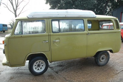 **Sold to the Higgins of Didcot**1974 Original paint Automatic Dormobile.