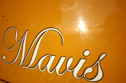**Mandy Gardner of Oxfordshire**  MAVIS is now gone 19-1-11 Full retrim and tidy up of a lovely orignal bus