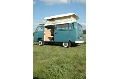 8th October 2011 * colelcted by Shirley Plews** Van was ready to go. 1978 Neptune blue RHD VW camper van for sale. Full G'day wanderer package
