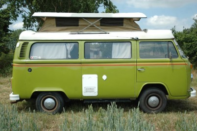 **Collected 5-5-2012, THE MINALLS**'79 RHD vw camper. Amazing original condition inside and out