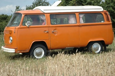 *** SOLD to Julia from Oxfordshire *** Orange 2 litre camper