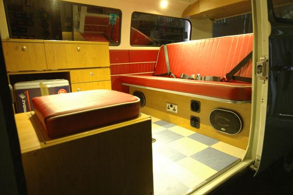 full 5 berth wanderer interior