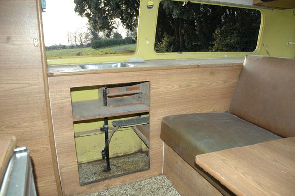 All original Vw campmobile interior All mod cons