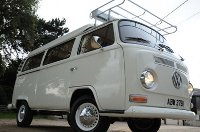 Rob Hunters camper. '72 model full Wanderer spec. **18-7-12 collected then off the South West France the next day**
