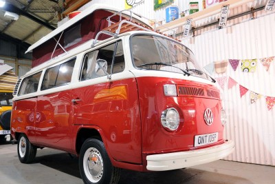 **JUNE 16th Sold to the TAYLORS of ** 2013 Red and white wanderer taking shape... . one of 8 vans being built for sale
