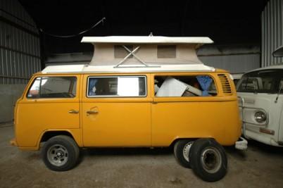 '**taken 22/7/09**The Armstrongs **78 2 litre VW Campervan.