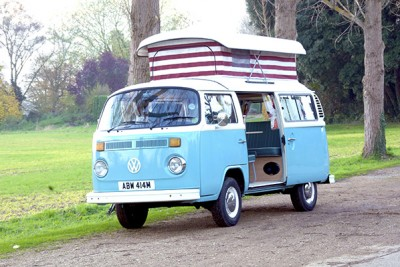 **SOLD**. RHD classic VW camper for sale. Lovely condition and nice price too!!