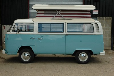 * SOLD TO Hippy camper hire **April 2015** '74 late bay in for sale, Australian import 3/4 interior