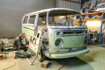 **September 2015 ** Sold to the Cullen's 1975 South African RHD. Another Wanderer being built through the winter