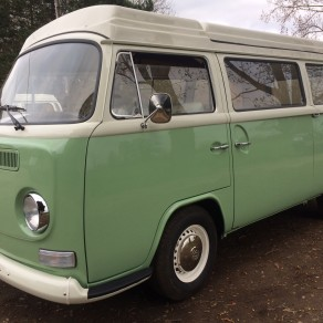 **March 2017** 72 Cross over Wanderer. Birch green over white. 2.1 Type 4 engine. Full high end build. Be quick Rhd vw campers for sale don't last long