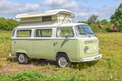 The Corricks, Restoration of a vw camper van for a customer