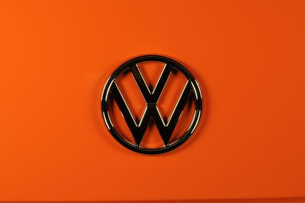 Previous Dormobile build in orange and white