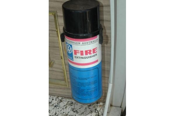 Original VW Australia suppled Fire Extingusher