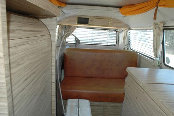 All original interior