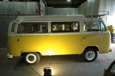 ** Deposit taken the Dales 19/6 ***1976 2 litre engine and box. 4 berth oz import, high class re paint in Banana yellow and pastel white.
