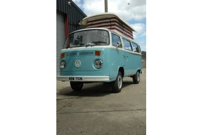 Gone 26/5/09 Priests of Manchester 1975 Flipper blue campmobile 1600cc